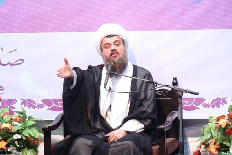 سخنرانی در مراسم ویژه عید غدیر در مسجد حاج حسین ساعت