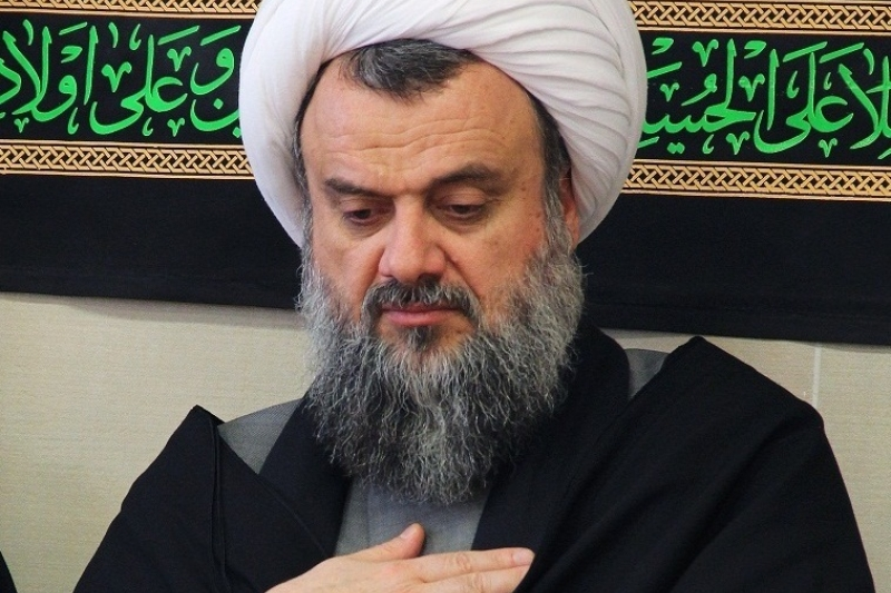 برپایی عزای صادق آل محمد ـ علیهم السلام ـ در دفتر آیت الله هادوی تهرانی