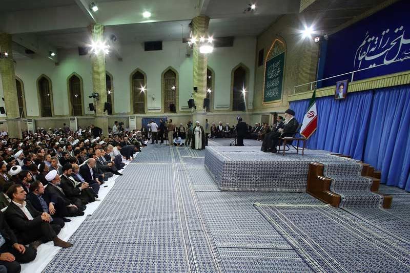 دیدار اعضای مجمع جهانی اهل بیت علیهمالسلام با رهبر معظم انقلاب