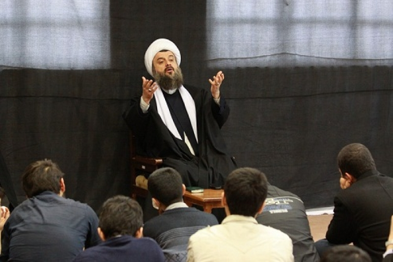 سخنرانی در جمع طلاب شهر قزوین
