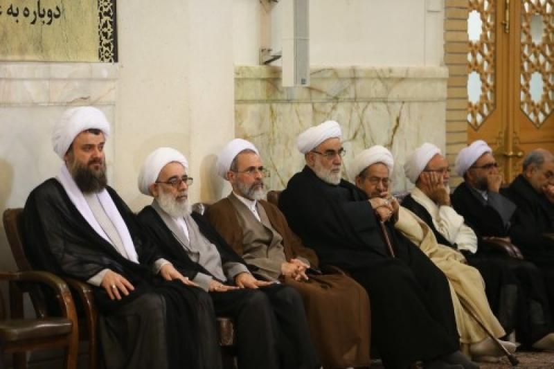 شرکت در مراسم بزرگداشت مهاجران الی الله در قم
