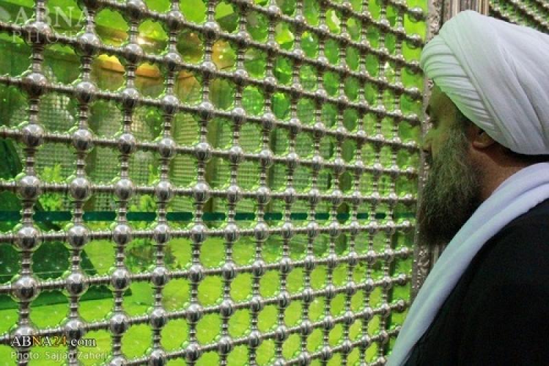 تجدید میثاق اعضای مجمع جهانی اهل بیت(ع) با آرمان های امام خمینی(ره) + گزارش تصویری